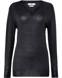 Replay Classic V Neck Mesh - Lyst