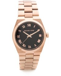 Michael Kors - Vintage Glam Brooks Watch Rose Gold - Lyst