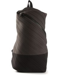 Pleats Please Issey Miyake - Pleated Backpack - Lyst