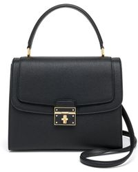 Dolce & Gabbana | Leather Top-handle Satchel | Lyst