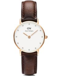 Daniel Wellington Classy Bristol Watch, 26Mm brown - Lyst