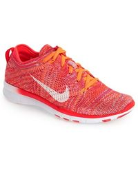 nike free flyknit 5.0 orange
