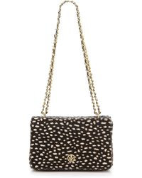 Tory Burch Robinson Adjustable Shoulder Bag Dotted Pony Print - Lyst