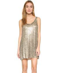 MLV - Nina Stovetop Beaded Dress - Lyst