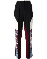 Peter Pilotto Wide Leg Trousers - Lyst