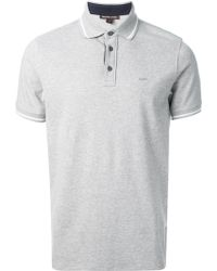 Michael Kors Gray Polo Shirt - Lyst