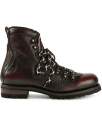 DSquared² - Mountaineering Boots - Lyst