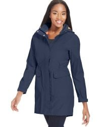 The North Face Quiana Hooded Rain Jacket - Lyst