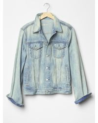 Gap 1969 Heritage Denim Jacket (Smoke Light Wash) - Lyst