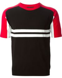 Diesel Black Gold 'Kriptonithe' Short Sleeve Sweater - Lyst