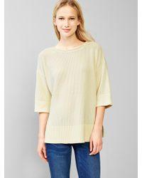 Gap Oversized Swing Sweater - Lyst
