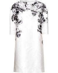Giambattista Valli Printed Satin Dress - Lyst