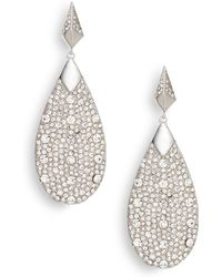Vince Camuto - Glam Punk Pavã© Earrings - Lyst