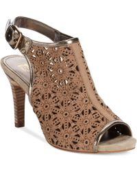 Anne Klein Odile Dress Sandals - Lyst
