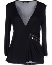 Versace T-Shirt black - Lyst