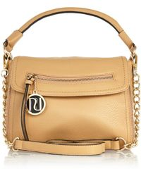 River Island Beige Fold Over Cross Body Slouch Bag - Lyst