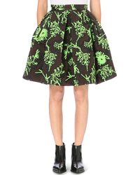 KENZO - Tool Monsters Quilted Pleated Skirt - Lyst