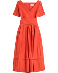 Preen Dress With Cut-Out Detail - Lyst