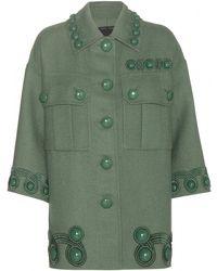 Marc Jacobs Embellished Wool Jacket - Lyst