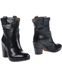 Hundred 100 Black Ankle Boots - Lyst