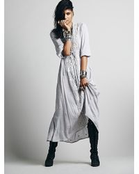 Free People Embroidered Fable Dress - Lyst
