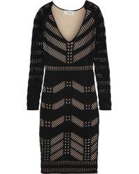 Temperley London Emblem Stretch Cottonblend Dress - Lyst