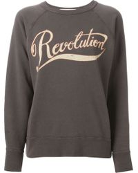 Etoile Isabel Marant 'Gen' Revolution Sweatshirt - Lyst