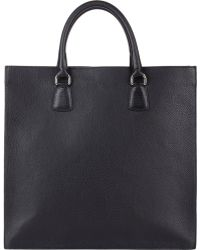 Barneys New York - Double-Handle Tote - Lyst