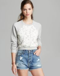 Pjk Patterson J. Kincaid - Sweatshirt Alayna Heathered - Lyst