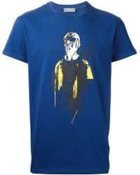 Dior Homme Abstract Print T-Shirt - Lyst