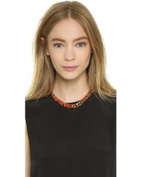 Gemma Redux - Splatter Chain Necklace - Splatter/Rainbow - Lyst
