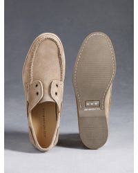John Varvatos Drifter Boat Shoe - Lyst