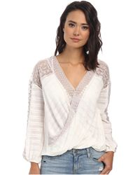 Free People Valley City Top - Lyst