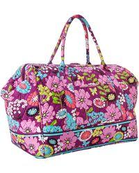Vera Bradley Frame Travel Bag - Lyst