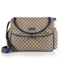 Gucci Original Gg Canvas Baby Bag blue - Lyst