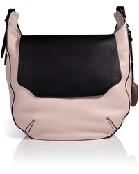 Rag & Bone Leather Flap Hobo - Lyst