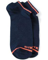 Diesel Low Cut Socks - Lyst