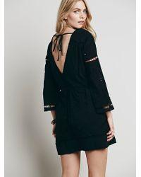 Free People Womens Odile Mini Dress - Lyst