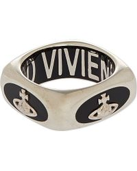 Vivienne Westwood Anne Ring - For Men - Lyst