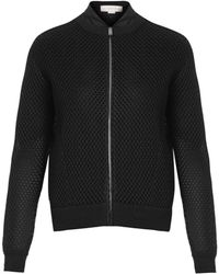Stella McCartney Embroideredmesh Bomber Jacket - Lyst