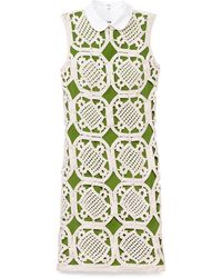 Tory Burch Green Lexi Dress - Lyst