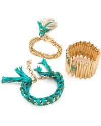 Samantha Wills Hearbeats in The Sung Bracelet Set Turquoise - Lyst