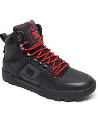 DC Shoes - Winterized Water-resistant Boots - Lyst
