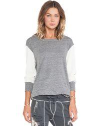 Nsf Clothing Gray Sybil Tee - Lyst