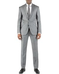 Alexandre Savile Row Stripe Regular Fit Single Breasted Suit - Lyst