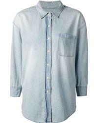 R13 Oversized Denim Shirt - Lyst