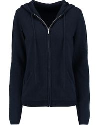Banjo & Matilda - Wool And Cashmere-blend Hooded Top - Lyst