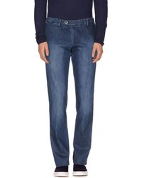 Maestrami - Denim Trousers - Lyst