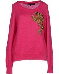 Just Cavalli Jumper pink - Lyst