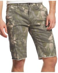 Guess Sunset Heights Cargo Shorts - Lyst